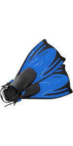 2020 Typhoon Kids junior T-Jet Fins in BLUE 330183