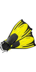 Aletas T-jet Junior Para Niños Typhoon 2020 Amarillo 33018