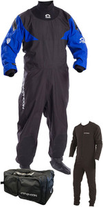 2020 Typhoon Hypercurve 4 Back Zip Drysuit, Underfleece & 80L Holdall Package Deal