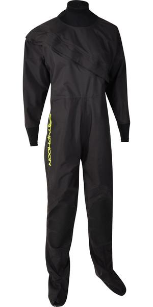 2020 Typhoon Junior Ezeedon 4 Front Zip Drysuit 100173 - Schwarz