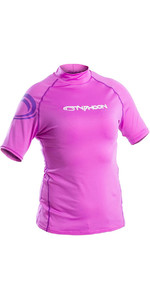Typhoon Junior Rash Vest Met Korte Mouwen, Violet 430074