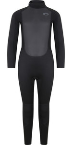 2021 Typhoon Junior Storm3 3/2mm Back Zip Wetsuit 25092 - Black / Graphite