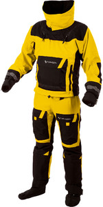 2019 Typhoon Ps330 Xtreme Kayak / Océano Drysuit + Con Cremallera De Color Amarillo / Negro 100160