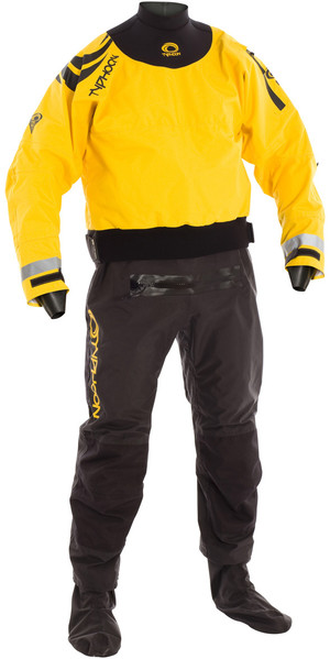 Drysuit Typhoon Multisport 5 Drysuit + CON ZIP NOIR / JAUNE 100165