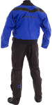 2020 Typhoon Multisport 5 Drysuit Meias De Tecido De Vedação De Látex + Con Zip Inc Underfleece Azul / Preto 100166