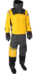 2020 Typhoon Ps440 Hængsel-entry Drysuit 100.182 - Gul / Grå
