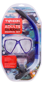 Typhoon Pro Adult Silicone Mask & Snorkel Set 320382