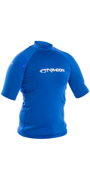 2019 Tshirt manica corta a maniche corte Typhoon Aqua Blue 430023