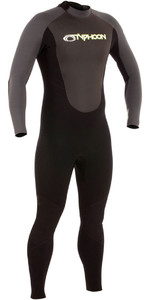 2019 Typhoon Storm 3/2mm GBS Wetsuit Black / Graphite 250770