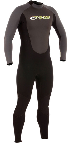 2019 Typhoon Storm 3 / 2mm GBS Wetsuit Black / Graphite 250770