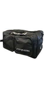 2020 Typhoon Hvalross 80l Våd / Dry Holdall Sort 360110