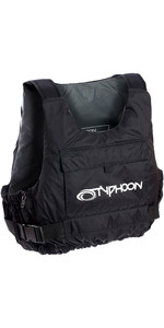 2019 Typhoon Yalu Side Zip 50N Buoyancy Aid Black / Silver 410601
