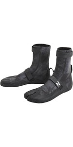 2020 Billabong Revolution 3mm Split Toe Stiefel U4bt23 - Schwarze Krawattenfarbe