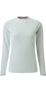 2020 Gill Womens Long Sleeve UV Tec Tee Grey UV011W