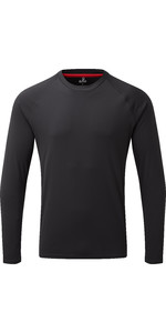 2020 Gill Mens Long Sleeve UV Tec Tee Charcoal UV011