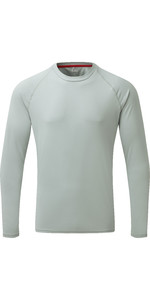 2019 Gill Mens Long Sleeve UV Tec Tee Grey UV011