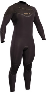 2019 GUL Viper Pro 5/4mm Chest Zip GBS Wetsuit BLACK VR1242-B5