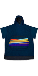 2021 Poncho Al Aire Libre Voited Navy / Scolt Head Island