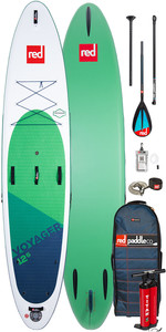 """2020 Red Paddle Co Voyager 12'6 """" Stand Up Paddle Board - Pack Carbone 50 / Nylon"""