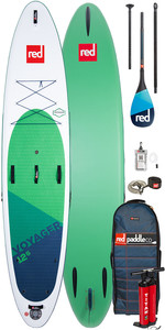 """2020 Red Paddle Co Voyager 12'6 """" Stand Up Paddle Board - Pack Carbone 100 Paddle"""