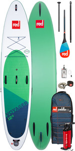 """2020 Red Paddle Co Voyager 12'6 """" Stand Up Paddle Board - Pack Carbone 50 Pagaies"""