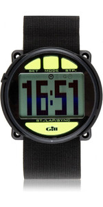 2021 Gill Regatta Race Timer Watch Black / Lime W014