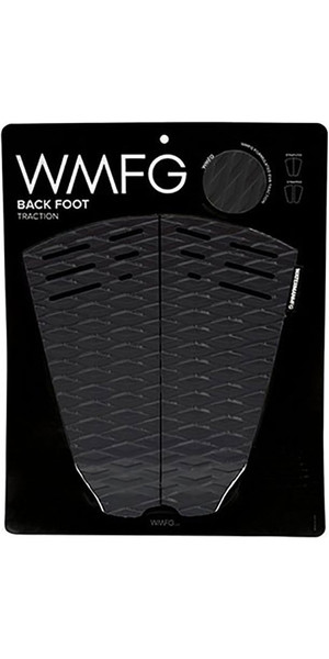 2018 WMFG Classic Back Foot Traction Pad Black / White 170015
