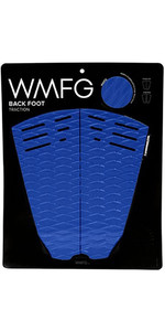 2019 WMFG Classic Back Foot Traction Pad azul / blanco 170015