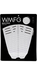 2019 Wmfg Classic Back Foot Traction Pad Weiß / Schwarz 170015