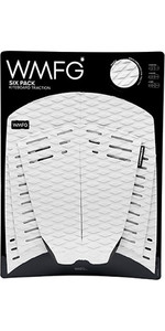 2019 Wmfg Classic Six Pack Traction Pad Branco 170001