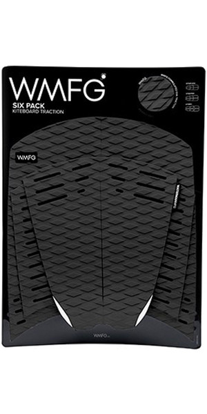 2019 WMFG Classic Six Pack Traction Pad Black 170001