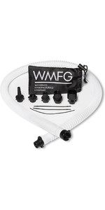 2021 Wmfg Kit Tubo E Ugello Con Attacco A Baionetta Standard Wmahk - Bianco