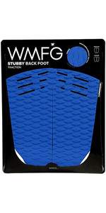 2019 Wmfg Stubby Back Foot Traction Pad Blau / Weiß 170020