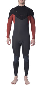 2019 Rip Curl Mens Dawn Patrol Warmth 3/2mm Chest Zip Wetsuit Burnt Orange WSM9AM