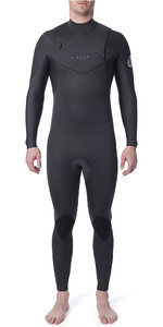 2020 Rip Curl Dawn Patrol Homens Dawn Patrol Performance 3/2mm Chest Zip Wetsuit Carvão Wsm9tm