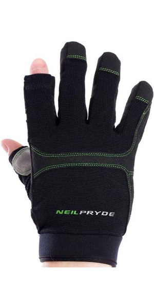 2018 Neil Pryde junior Regatta Full Finger Gants de voile Noir WUKSAGGF