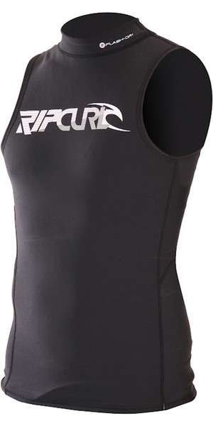Rip Curl Thermo Chaleco Seco Flash en Negro WVELCM
