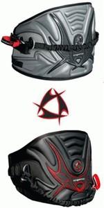 Mystic Kitesurfing Warrior Waist Harness inc bar. BLACK / RED. SMALL. LAST 1
