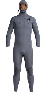 2020 Xcel Mens Comp X 4.5/3.5mm Hooded Chest Zip Wetsuit MN45C2H0 - Gunmetal