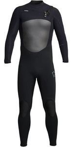 2020 Xcel Mens Infiniti X2 5/4mm Chest Zip Mq543z20 Wetsuit - Schwarz