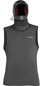 2020 Xcel Mens Insulate-X Hooded Vest AT082540 - Graphite
