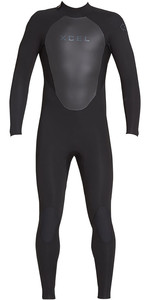 2020 Xcel Heren Axis 3/2mm Wetsuit Met Back Zip MT32AX18 - Zwart