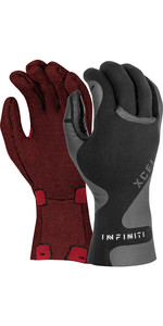 2020 Xcel Infiniti 1.5mm 5 Finger Neoprene Gloves AN193817 - Black