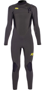 2020 Xcel Junior Comp 4/3mm Chest Zip Wetsuit KN43ZXC9 - Dark Forest