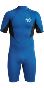 2020 Xcel Heren Axis 2mm Shorty Wetsuit Met Back Zip MN210AX9 - Blauw