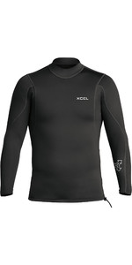 2020 Xcel Mens Axis 2/1mm Long Sleeve Neoprene Top MN216AX0 - Black