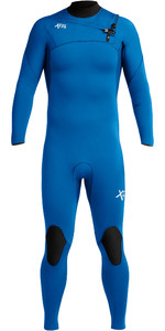 2020 Xcel Mens Comp 3/2mm Chest Zip Wetsuit MN32ZXC9 - Faint Blue