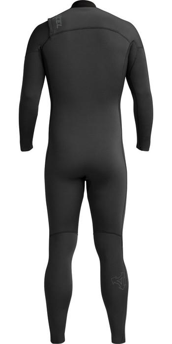 2020 Xcel Herren Comp 4/3mm Chest Zip Mr65zhn9 Wetsuit - Jet Black