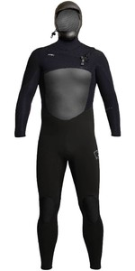 2020 Xcel Mens Infiniti X2 6/5mm Hooded Chest Zip Wetsuit MQ65ZHN0 - Black