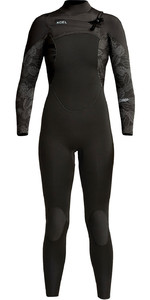 2020 Xcel Womens Comp 4/3mm Chest Zip Wetsuit WN43ZXC9 - Black